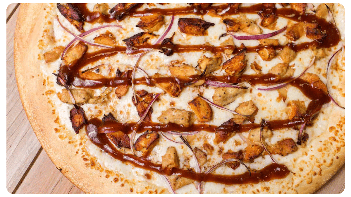 BBQ Chicken Pizza $8.99