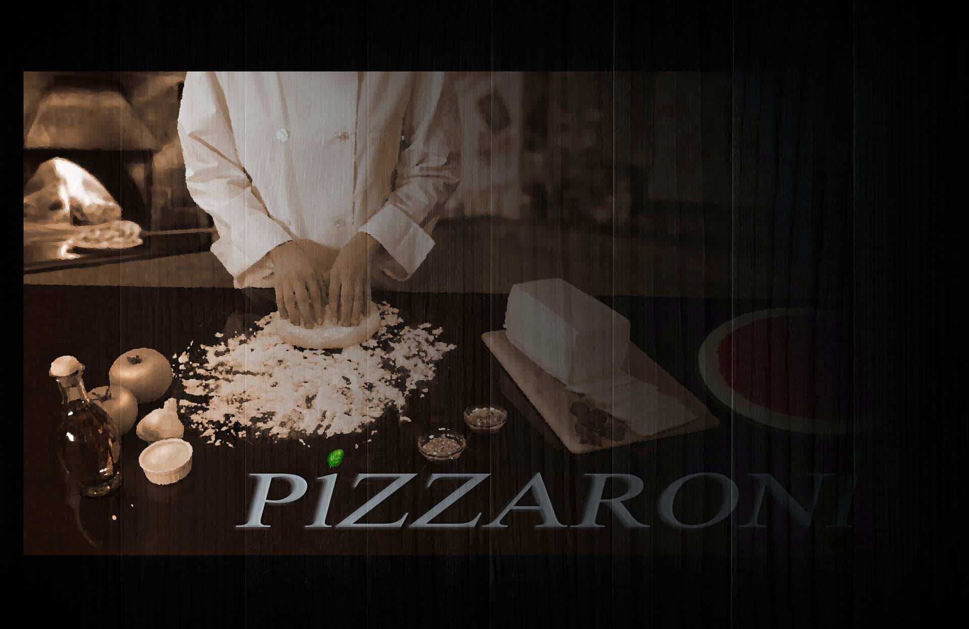 pizzaroni mural